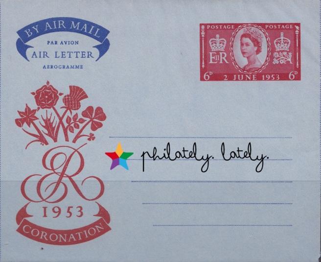 001_UK_Coronation_Stamps_1953_Aerogramme
