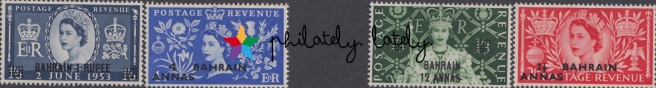 003_Bahrain_Coronation_Stamps_1953