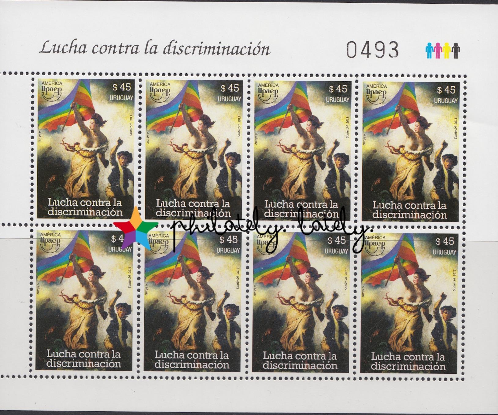 002_Uruguay_LGBT_Stamps