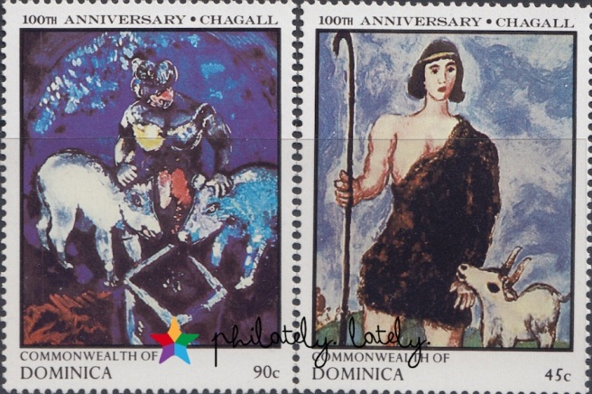 003_Commonwealth_of_Dominica_Chagall_Stamps