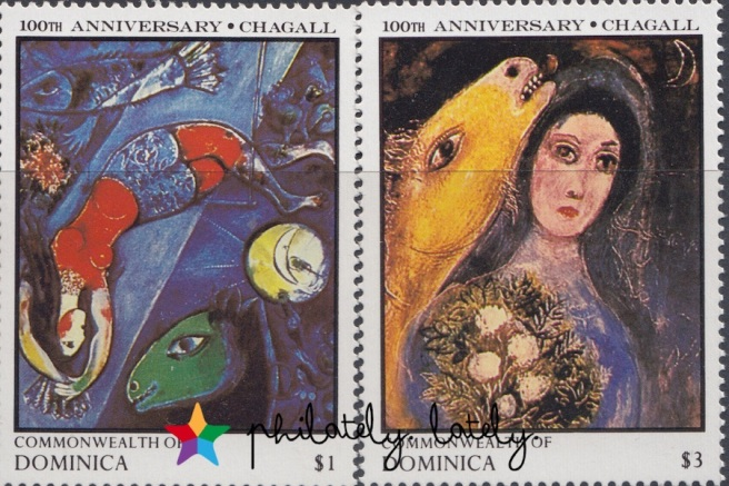 004_Commonwealth_of_Dominica_Chagall_Stamps
