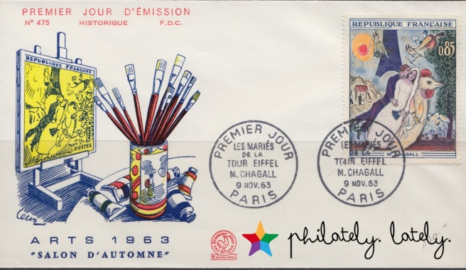 006_France_Chagall_Stamps_FDC