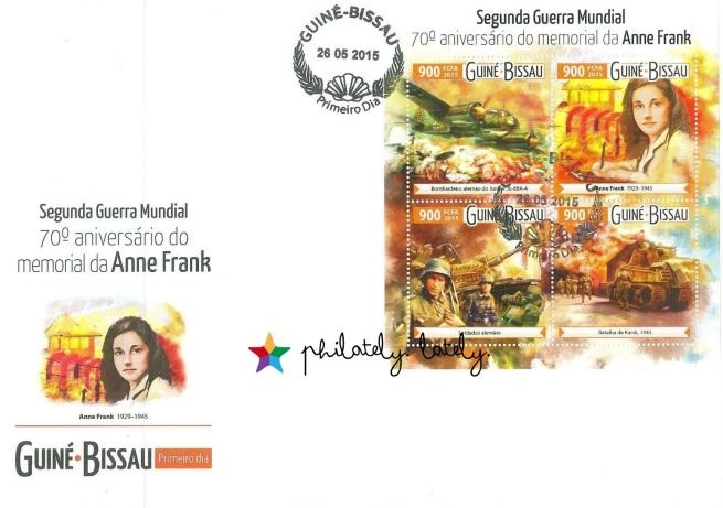 006_Guinea_Bissau_Anne_Frank_FDC