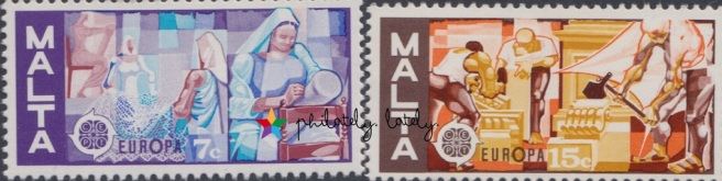 006_Malta_Europa_1976_Handicrafts_Stamps.jpg