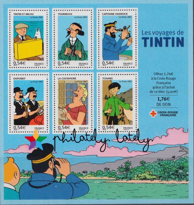 013_France_Tintin_Stamps