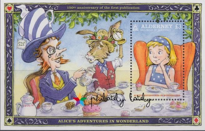 014_Alderney_Alice_in_Wonderland_Sheet