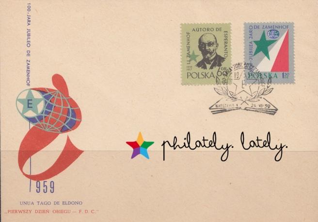 017_Poland_FDC_Esperanto_on_Stamps