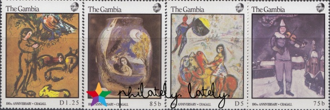 024_The_Gambia_Chagall_Stamps