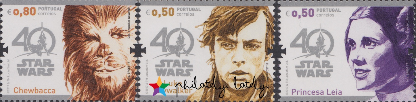 Star Wars On Stamps Philately Lately