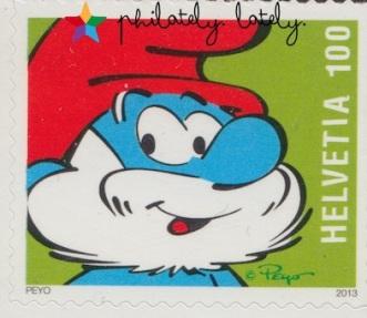 005_Switzerland_Smurfs_Stamps