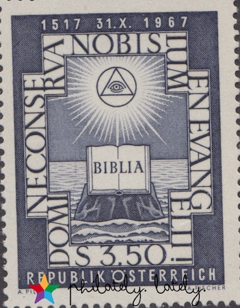 009_Austria_Martin_Luther_Stamps